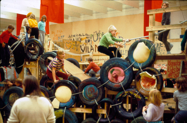 Palle Nielsen, Modellen, Moderna Museet, 1968. Foto Palle Nielsen(1)